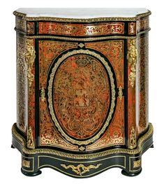 French Antique 19th century Boulle cabinet