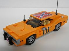 Lee Dukes of Hazzard: Eine LEGO®-Kreation von Clayton Marchetti: MOCpages . - -General Lee Dukes of Hazzard: Eine LEGO®-Kreation von Clayton Marchetti: MOCpages . Lego Cars, Lego Truck, Lego Trains, Lego Auto, General Lee, Legos, Deco Lego, Modele Lego, Lego Wheels