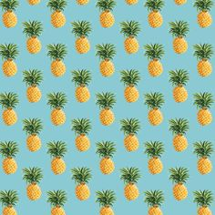"Pineapple Minis : Removable Wallpaper. NEW for summer!  All Dynamite Decals custom removable wallpaper panels measure 48"" x 100"" when installed."