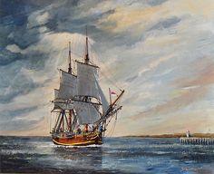 """""""The Bounty"""", painting by Yasmina (2009)"""