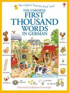 First Thousand Words in German - Amery, Heather ISBN 9781409583035