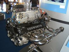 Cosworth Engine by deathbybass