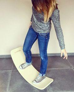 Wobble board, ecoterre, planche d'équilibre