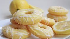 Baked Lemon Donuts - Weight Watchers Recipes