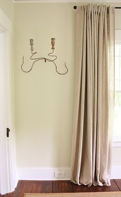 Ikea Aina curtains in natural