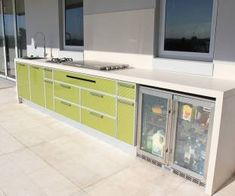 Planning an outdoor kitchen? Our kitchens are built to the highest specifications. Call us today and we will organise a quote for you.