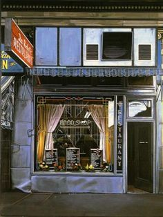 Richard Estes -  Food Shop