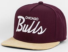 All Day Chicago Bulls Snapback Cap by MITCHELL & NESS