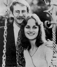 Patty Hearst and fiance Steven Weed