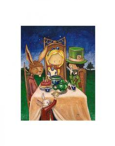 """The Twilight Tea Party"" by Seth Ahonen"