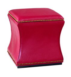 Red Storage Cube, Available at HomeGalleryStores.com