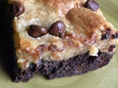 Peanut Butter Chocolate Brownie Bars #Recipe #GlutenFree