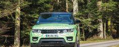 Le Range Rover Sport Hybride s'apprête à participer au 16e Rallye Monte-Carlo des Énergies Nouvelles - via Jaguar Land Rover Fréjus www.jaguarlandrover-cotedazur.com