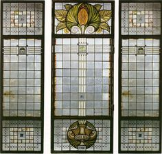 Glass designed by Galileo Chini, Italy 1908 #art #nouveau