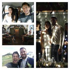Znova BB a to s týmto krásnym párikom :-) 215km/h svadobným autom, veď čo pre fotky nespravíte :-D #BB #banskastiavnica #audiq7 #wedding #13