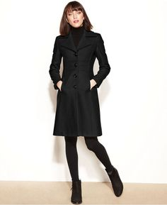Nine West Coat, Wool-Blend Seamed Walker. OMG please let me get this is a size 4 for Christmas!!