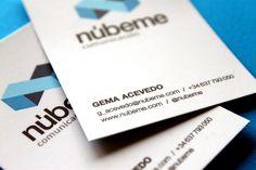 NÚBEME COMUNICACIÓN | Identidad Corporativa by laMuda, via Behance