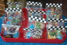 Race Car Party Goodie Bags