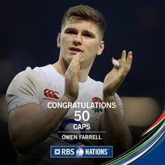 #RBS6Nations Anglaterra. Owen Farrell