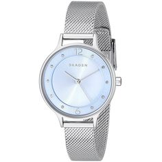 Skagen Women's SKW2319 Anita Crystal Stainless Steel Watch