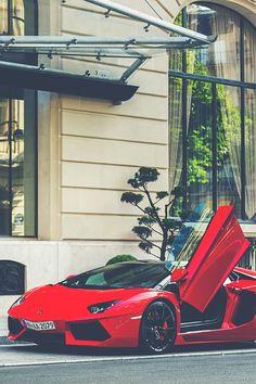 supercars-photography:  Lamborghini Aventador Rosso Mars (via)