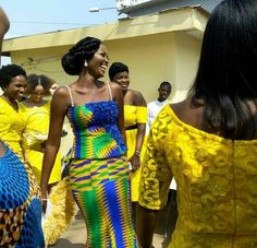 Image result for ghana traditional wedding clothing