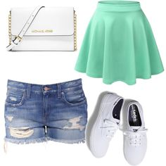 Untitled #333 by evanmonster on Polyvore featuring polyvore fashion style Keds MICHAEL Michael Kors