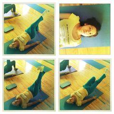 """@inspirahpilates's photo: """"Arlette haciendo una variación del #Pilates Shoulder Bridge en la #FormacionPilates @Balanced_Body :)"""""""