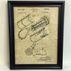 #newworldordance #gun #framed  https://www.etsy.com/listing/204224355/gatling-machine-gun-framed-art-patent