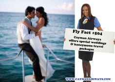 Get married in the Cayman Islands! It is super easy and Cayman Airways offers special wedding and honeymoon travel packages.  Visit www.caymanairways.com to book your trip