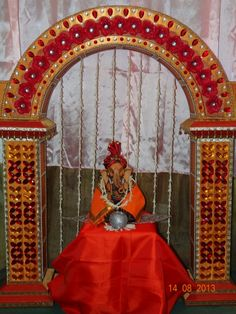 Decoration For Ganpati, Ideas