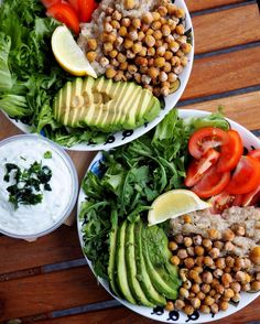 Chickpea and Quinoa Buddha Bowl with Green Goddess Dressing – Ella's Experimental Kitchen – welcome to read my kitchen stories!