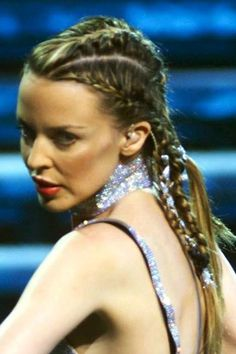 Amanda Seyfried cornrows : Elle
