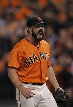 Brian Wilson. Even though he's a Dodger now. *barf*, still the best Giants closer of all time.