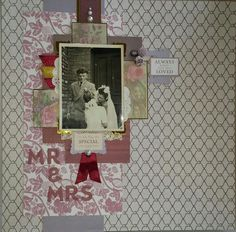 The Scrapbook Lady: The Scrapbook Lady: 12x12 Scrapbook Layout Using Crafter's Companion Downton Abbey