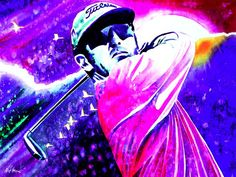 David Duval, Winning The Open Championship 2001 at Royal Lytham & St Annes! Golf Art, St Anne, Still Life, Watercolor, Sport Golf, Gallery, Drawings, David, Anime