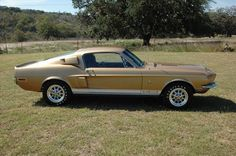 1968 Shelby GT500 Mustang Fastback