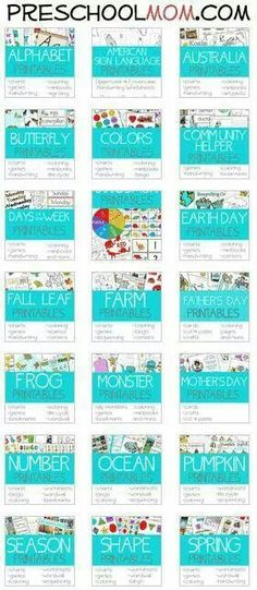 Free Kindergarten Readiness Printables!   Pinterest   Kindergarten ...
