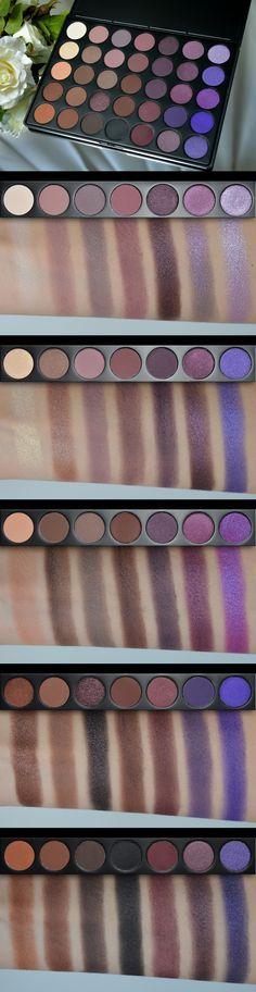 Morphe 35P palette s