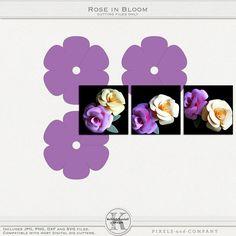 Rose in Bloom Tutorial   Kelleigh Ratzlaff Designs
