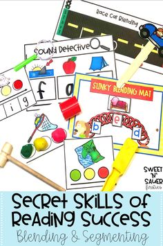 Learn why blending and segmenting activities are so important for your kindergarten students, and how you can offer more support with this skill in your elementary classroom! Some of the ideas I'm sharing include using engaging activities, CVC words for practice, utilizing assessments, guided reading groups, and so much more! Don't forget to grab my FREE resource!