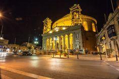 Mosta by night! Malta