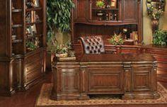 Hemispheres Furniture Store Castello Executive Desk