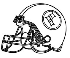 20 best coloring pages images on pinterest nfl football
