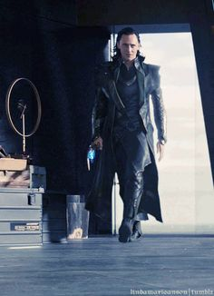 "Tom Hiddleston ""Loki"" Oh yes boys and girls. It's about the walk!<--i read that in Tom's voice more specifically just the word ""Walk""."