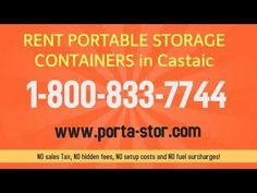 http:& Need to rent portable storage containers in Canyon Country California? Call Porta Stor and rent a portable steel container delivered to.