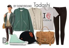 """Tadashi"" by leslieakay ❤ liked on Polyvore featuring Ted Baker, Banana Republic, Tadashi, Proenza Schouler, Converse, disney, disneybound and disneycharacter"