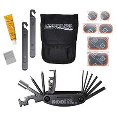 Multi Function Bike Tool with Patch Kit & Tire Levers 18 Function #62%#Discount(30/08/2014)