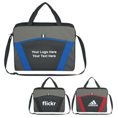 "Personalized Casual Friday Messenger Bags: Available Colors: Royal Blue, Red, Black. Product Size: 15"" W x 12"" H x 3"" D. Imprint Area: 6"" W x 4"" H. Box Weight: 28 lbs. #casualmessengerbag #promotionalproduct #custombag  Packaging: 50 pcs. Material: 600D Polyester."