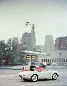 "Photo for Chevrolet/""New Yorker"" magazine c1960 | Photographer: Mark Shaw"
